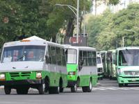 Prohibirán circulación de microbuses en la Ciudad de México