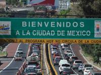 Limitarán circulación de vehículos con placas de Michoacán, Querétaro y Guanajuato en la CDMX