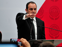 Cuauhtémoc Blanco se destapa para gobernador de Morelos