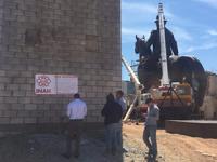 Derrumban edificio histórico en Parral para colocar estatua