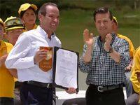 Entrega EPN reconocimiento al Mérito Forestal