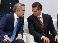 Sólo 29% aprueba gestión de Peña Nieto; Mancera con 17% de aprobación
