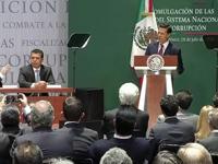 Promulga Peña Nieto leyes secundarias del Sistema Nacional Anticorrupción