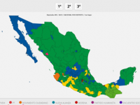 INE presenta el Atlas de Resultados Electorales 1991-2015