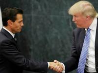 Crónica de una visita inesperada: Donald Trump en México