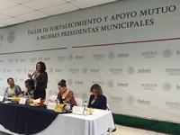 Indesol realiza encuentro con alcaldesas electas