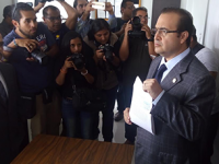 Javier Duarte se presenta ante la SEIDO… para denunciar a Yunes