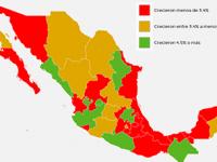 Hidalgo, Guerrero y Nuevo León, estados con mayor crecimiento económico