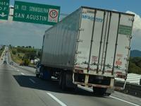Zonas de riesgo por aumento de robos al autotransporte de carga en México