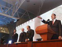 Alejandro Tello toma protesta como Gobernador de Zacatecas