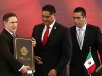 José Rosas Aispuro toma protesta como gobernador de Durango