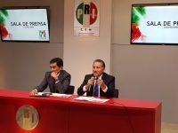 Suspenden derechos de Javier Duarte como militante del PRI