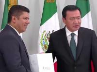 Entrega Osorio al Congreso 4to Informe de Gobierno sin iniciativa preferente