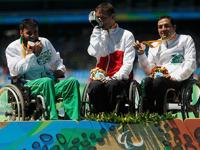 Ex alcalde de Neza gana medalla en Juegos Paralímpicos de Río