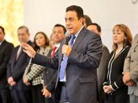 Inicia mandato de los gobiernos estatal y municipal en Hidalgo