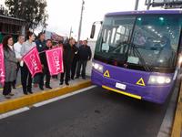 Inicia servicio exprés de transporte público en los segundos pisos de la CDMX