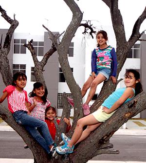 Niñas y adolescentes vulnerables