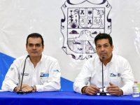 Unen esfuerzos Cabeza de Vaca y Enrique Rivas por Nuevo Laredo