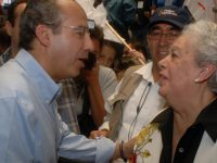 Envían políticos condolencias a ex presidente Felipe Calderón