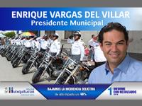 Huixquilucan, el municipio más seguro del Edomex: Enrique Vargas del Villar