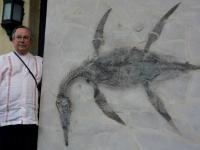 Alcalde presenta fósil de dinosaurio con su nombre y pide elaborar Ley Paleontológica Federal