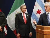Alcaldes de Guadalajara, CDMX y Ciudad Juárez refuerzan lazos con Chicago