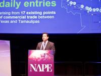 Gobernador de Tamaulipas expone en Texas ventajas del estado para el sector energético