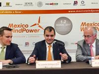 Inversiones en energía eólica en México superiores a los 12,000 mdd para 2018