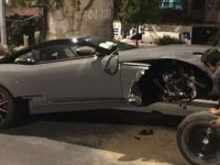 Alcalde de Guerrero choca su auto de 6 mdp en la CDMX