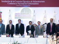Instala Conago la Comisión Ejecutiva de Infraestructura
