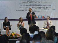 Ley de Alcaldías, base del funcionamiento político y administrativo de la CDMX: José E. Alfaro