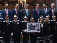 Lotería Nacional festeja 25 años del Grupo Financiero Interacciones