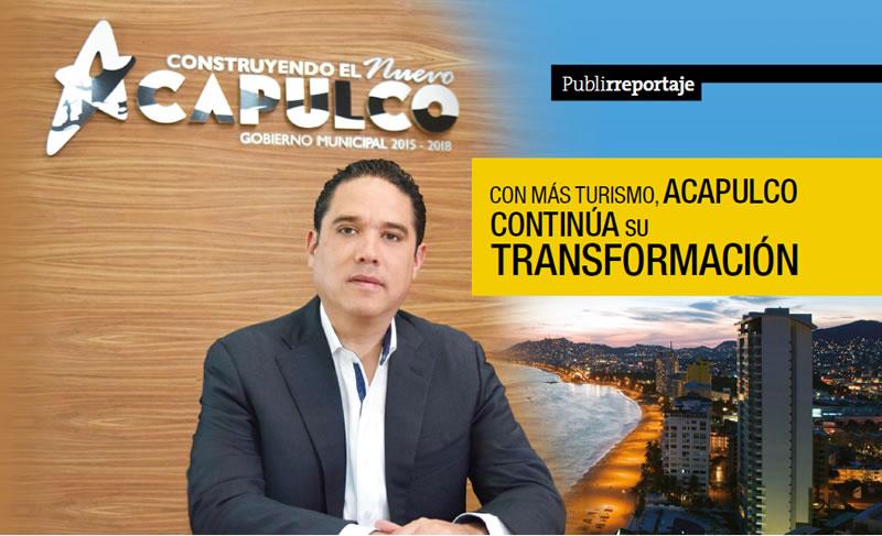 Con más turismo, Acapulco continúa su transformación