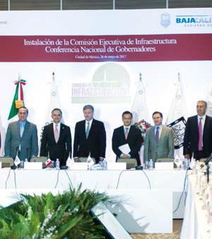 Instala Conago comisión ejecutiva de infraestructura