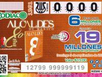 Dedica Lotería Nacional su Sorteo Zodiaco a la Revista Alcaldes de México