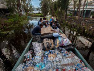 Urge agua en Xochimilco