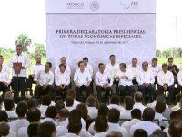 Decretan formación de las tres primeras Zonas Económicas Especiales