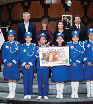 Dedica lotenal sorteo zodiaco a Alcaldes de México