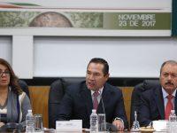 Comparece Luis Miranda ante Diputados por V Informe de Gobierno