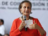 Fallece titular del INDESOL, María Angélica Luna Parra
