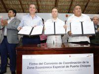 Crearán mil 527 empleos con ZEE de Puerto Chiapas