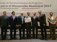 Reconoce INAFED buena labor de municipios en la Agenda para el Desarrollo