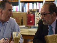 Meade y Presidente de Nueva Alianza analizan posible coalición