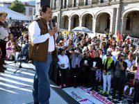 Alcaldes mexiquenses inician plantón en Toluca por falta de recursos
