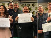 Barrales, Ahued y Chertorivski van por candidatura del PRD a la CDMX