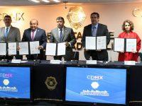Renuevan transportistas convenio de circulación con la CDMX