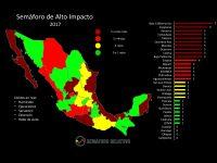 2017, el año con más inseguridad en la historia de México