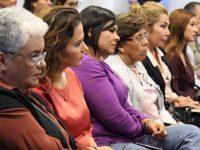 Lanzan campaña para fortalecer el desarrollo profesional de mujeres políticas
