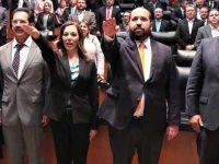 Senado elige y toma protesta a nuevos comisionados del INAI
