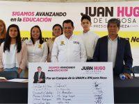 Propone Juan Hugo de la Rosa campus de la UNAM o IPN en Nezahualcóyotl